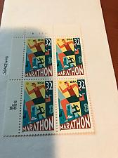 Buy USA United States Marathon block mnh 1996 #3 stamps