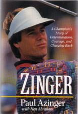 Buy ZINGER :: 1995 HB w/ DJ by Paul Azinger
