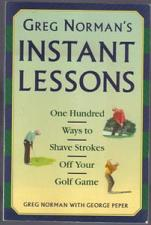 Buy GREG NORMAN'S INSTANT LESSONS 100 Ways to Shave Strokes