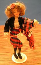 Buy FLAGG DOLL :: Nationality Woman # 12 :: Scottish Girl :: FREE Shipping
