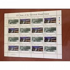 Buy Ireland Universal Postal Union UPU sheet mnh 1999 stamps