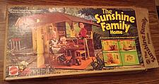 Buy Sunshine Family Home : With Father and Baby : 1974 Mattel