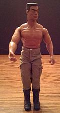 """Buy Vintage 12"""" Black African American G.I. Joe with Scar and Crew Cut"""
