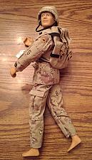 """Buy Vintage 12"""" Hall of Fame G.I. Joe Duke with Scar and Blonde Fur Hair :: FREE Shipping"""