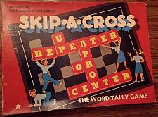 Buy Vintage SKIP-A-CROSS Word Tally Game CADACO-ELLIS 1952/1953