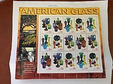 Buy USA United States American Glass mnh sheet 1998 stamps