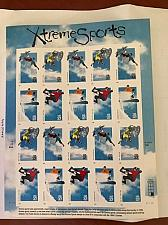 Buy USA United States Extreme Sports mnh sheet 1999 stamps