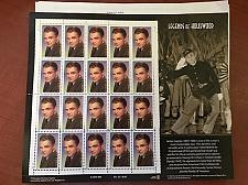 Buy USA United States James Cagney mnh sheet 1999 stamps