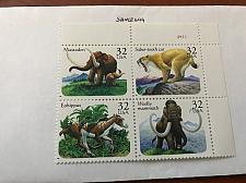 Buy USA United States Prehistoric animals block mnh 1996 #1 stamps