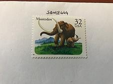 Buy USA United States Prehistoric animals mnh 1996 #3 stamps