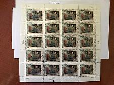 Buy USA United States Frederick Law Olmsted mnh sheet 1999 stamps