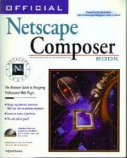 Buy OFFICIAL Netscape Composer Book w/ CD