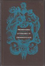 Buy Promenades Littéraires et Grammaticales French Study