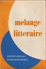Buy Mélange Littéraire :: Josette Smetana :: in French