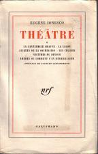 Buy Eugène Ionesco :: Théâtre :: Completely in French