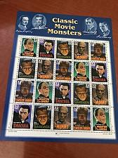 Buy USA United States Classic Movie Monsters mnh sheet 1997 stamps