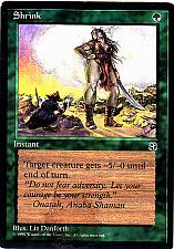 Buy Shrink - Green - Instant - Magic the Gathering Trading Card