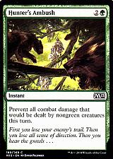 Buy Hunter's Ambush - Green - Instant - Magic the Gathering Trading Card