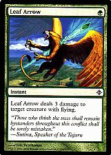 Buy Leaf Arrow - Green - Instant - Magic the Gathering Trading Card