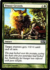 Buy Titanic Growth - Green - Instant - Magic the Gathering Trading Card