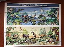 Buy USA United States Prehistoric Animals Dinosaurs sheet mnh 1997