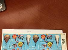 Buy USA United States Hot Air Balloons strip mnh 1983 stamps