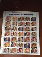Buy USA United States Jazz Singers sheet mnh 1994