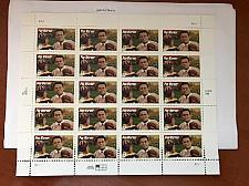 Buy USA United States Pop Warner sheet mnh 1997