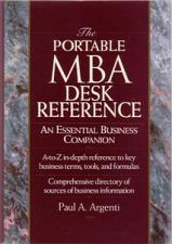 Buy THE PORTABLE MBA DESK REFERENCE :: 1994 HB w/ DJ