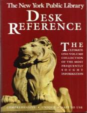 Buy The New York Public Library Desk Reference
