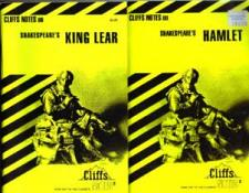 Buy Lot of 7: CLIFFS NOTES on works of SHAKESPEARE
