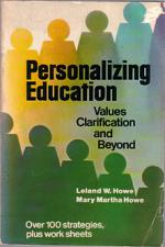 Buy Personalizing Education : Values Clarification & Beyond