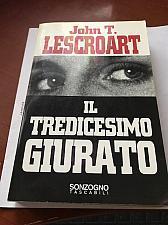Buy Italy book John T Lescroart * Il tredicesimo Giurato* Libro