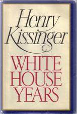 Buy WHITE HOUSE YEARS :: Henry Kissinger :: 1979 HB w/ DJ :: FREE Shipping