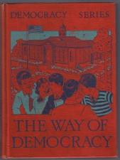 Buy THE WAY OF DEMOCRACY :: 1940 HB :: FREE Shipping