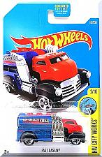 Buy Hot Wheels - Fast Gassin: HW City Works #2/10 - #167/250 (2016) *Red & Blue*
