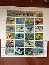 Buy USA United States Aircraft sheet mnh 1997