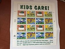 Buy USA United States Kids Care sheet mnh 1995 stamps