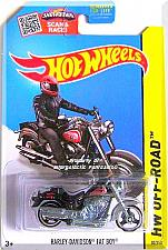 Buy Hot Wheels - Harley-Davidson Fat Boy: HW Off-Road 2015 - HW Moto #82/250 *Black*