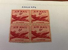 Buy USA United States Airmail block mnh 1958