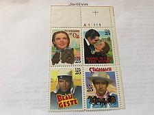 Buy USA United States Classic Films block of 4 mnh 1990