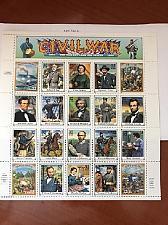 Buy USA United States Civil War sheet mnh 1995 stamps