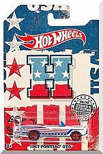 Buy Hot Wheels - 1967 Pontiac GTO: Stars & Stripes Series #06/10 (2018) *Walmart*