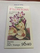 Buy USA United States Garden Flowers booklet mnh 1996 stamps