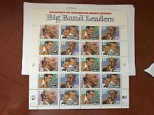 Buy USA United States Big Band Leaders sheet mnh 1996 stamps