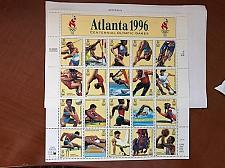Buy USA United States Atlanta 1996 sheet mnh 1997 stamps