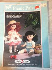 Buy Picnic Pals: Crochet a Play Outfit or a Dress and Apron using Sport Weight Yarn