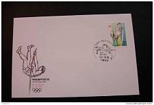 Buy Korea 1679 Pole Vault Summer Olympics Barcelona with first day cancel 1992