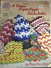 Buy ASN Crochet A Dozen Rapid-Ripple Dishcloths