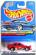 Buy Hot Wheels - Escort Rally: Classic Games Series #4/4 - Collector #984 (1999)